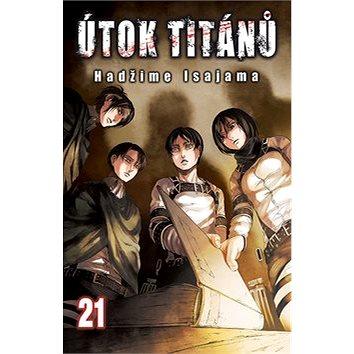 Útok titánů 21 (978-80-7449-781-0)