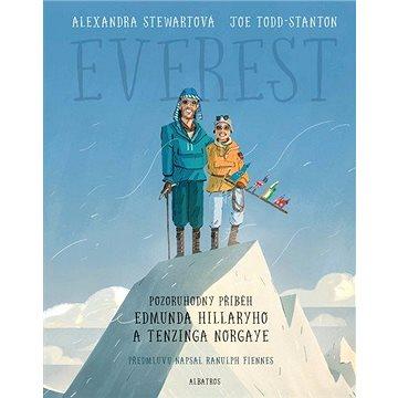 Everest Pozoruhodný příběh Edmunda Hillaryho a Tenzinga Norgaye (978-80-00-05828-3)