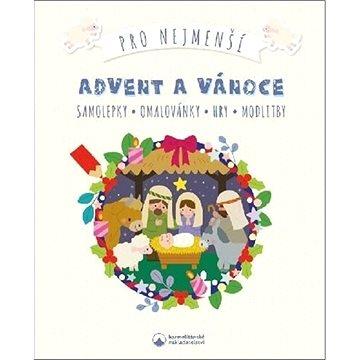 Advent a Vánoce pro nejmenší: Samolepky, omalovánky, hry, modlitby (978-80-7566-157-9)