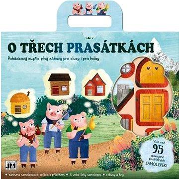 Zábavný kufřík O Třech prasátkách: Pohádkový kufřík plný zábavy pro kluky i pro holky (8595593826851)