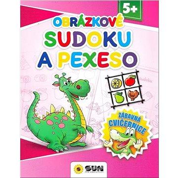 Obrázkové sudoku a pexeso: Zábavná cvičebnice 5+ (8592257007601)