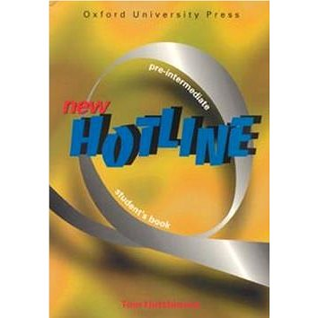 New hotline Pre-intermediate Student´s book (978-0-943576-3-0)
