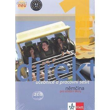 Balíček 5 ks Direkt NEU 1 Němčina pro SŠ: Učebnice+ pracovní sešit, 2CD,cvičebnice německé gramatiky (978-80-7397-182-3)