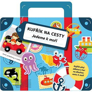 Kufřík na cesty jedeme k moři: Kufřík plný zábavy a her na dlouhou cestu k moři (978-80-00-03822-3)