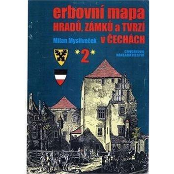 Erbovní mapa hradů, zámků a tvrzí v Čechách 2 (978-80-86183-68-8)