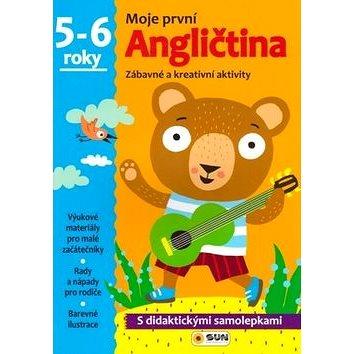 Moje první Angličtina 5-6 roky: Zábavné a kreativní úkoly a aktivity (978-80-7371-044-6)