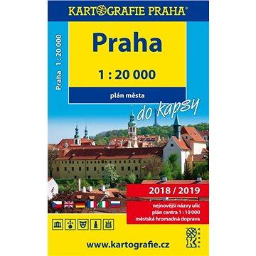 Praha do kapsy 1:20 000: Plán města (978-80-7393-348-7)