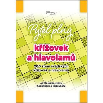 Pytel plný křížovek a hlavolamů: 200 stran švédských křížovek a hlavolamů (978-80-7288-152-9)