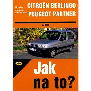 Citroën Berlingo, Peugeot Partner od 1998: Údržba a opravy automobilů č. 77 (80-7232-259-1)