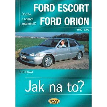 Ford Escort, Ford Orion od 9/90: Údržba a opravy automobilů č.18 (80-7232-309-1)