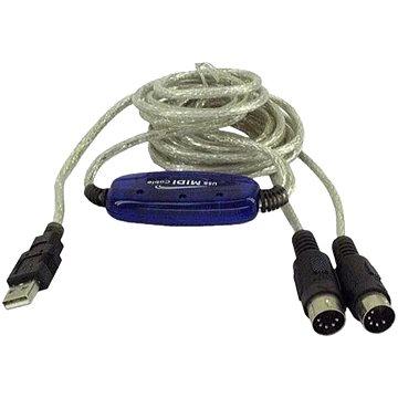 PremiumCord USB -> MIDI (kumidi)