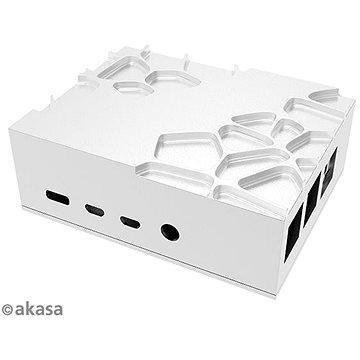 Akasa Gem Pro Pi 4 hliníková skříňka pro Raspberry Pi 4 Model B / A-RA09-M2S (A-RA09-M2S)