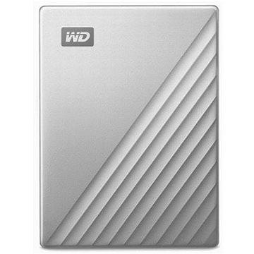 WD My Passport Ultra for Mac 5TB stříbrný (WDBPMV0050BSL-WESN)