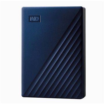 WD My Passport pro Mac 5TB, modrý (WDBA2F0050BBL-WESN)