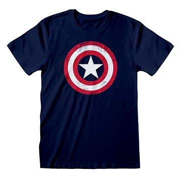 Captain America - Shield Distressed - tričko