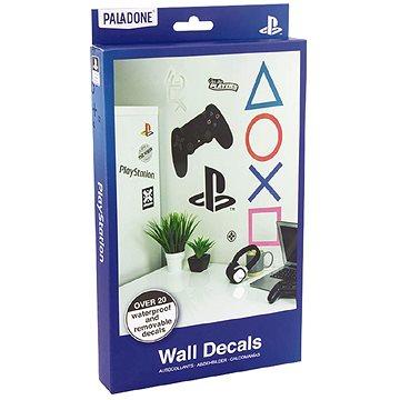 PlayStation - samolepky na zeď 22ks (5055964742140)
