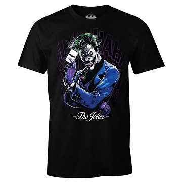 DC Comics - The Joker - tričko L (3664794097126)