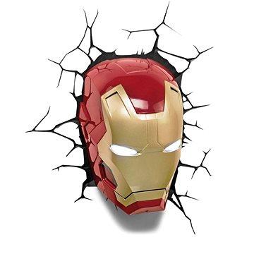 Iron Man - Head - lampa dekorativní na zeď (0816733840604)