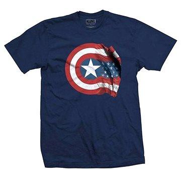 Captain America - American Shield - tričko S (5055979960348)