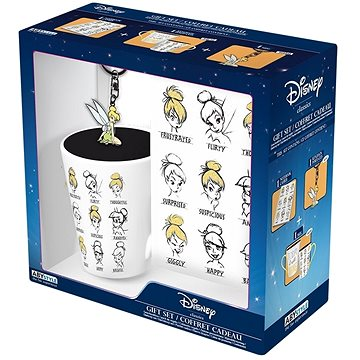 Disney Tinkerbell - hrnek, zápisník, přívěsek (3665361010555)