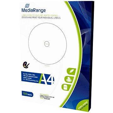 Mediarange CD/DVD/Blu-ray etikety 15 mm - 118 mm (MRINK130)