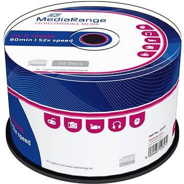 Mediarange CD-R 700 MB 52x spindl 50 ks (MR207)