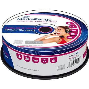 Mediarange CD-R AUDIO 700 MB 12x spindl 25 ks (MR223)