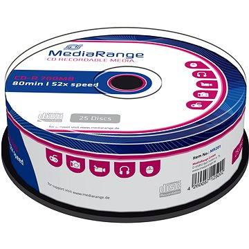 Mediarange CD-R 700 MB 52x spindl 25 ks (MR201)