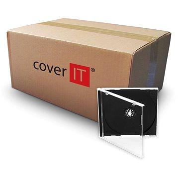 COVER IT box:1 CD 10mm jewel box + tray - karton 200ks (27001)