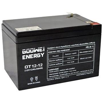 GOOWEI ENERGY OT12-12, 12V, 12Ah (OT12-12)