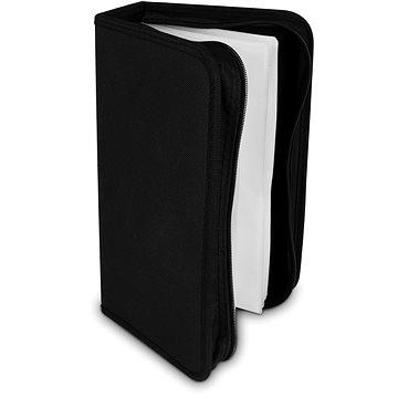 COVER IT pouzdro na 96 CD/DVD zapínací černé (29009)