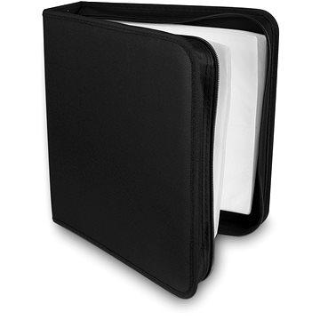 COVER IT pouzdro na 200 CD/DVD zapínací černé (29039)