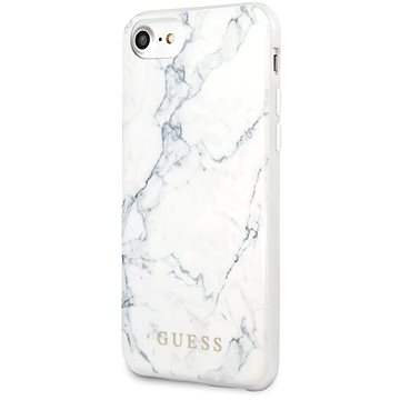 Guess Marble pro iPhone 8/SE 2020 White (3700740471272)