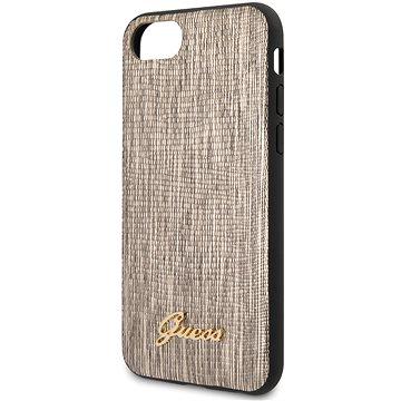 Guess Lizard pro iPhone 8/SE 2020 Gold (3700740475652)