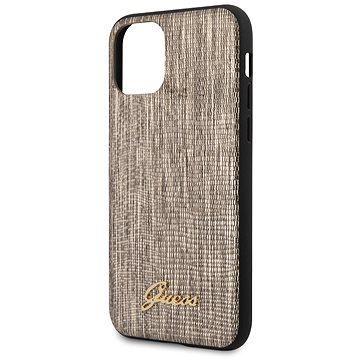 Guess Lizard pro iPhone 11 Pro Gold (3700740475478)