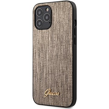 Guess Lizard pro Apple iPhone 12 Pro Max Gold (3700740480939)