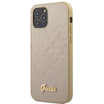 Guess Iridescent Love pro Apple iPhone 12 Mini Gold (3700740480700)
