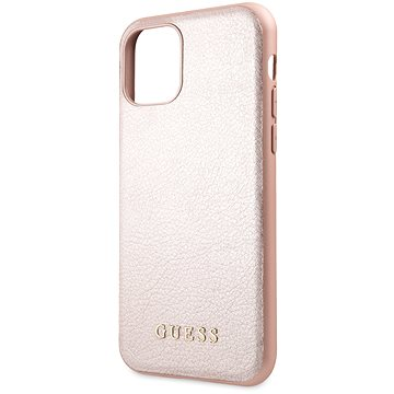 Guess Iridescent pro iPhone 11 Rose (EU Blister) (3700740463086)