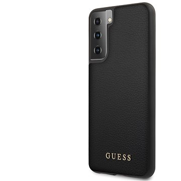 Guess Iridescent Zadní Kryt pro Samsung Galaxy S21 Black (3700740495766)