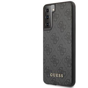 Guess 4G Zadní Kryt pro Samsung Galaxy S21 Grey (3700740495643)