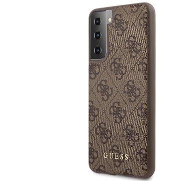 Guess 4G Zadní Kryt pro Samsung Galaxy S21+ Brown (3700740495629)