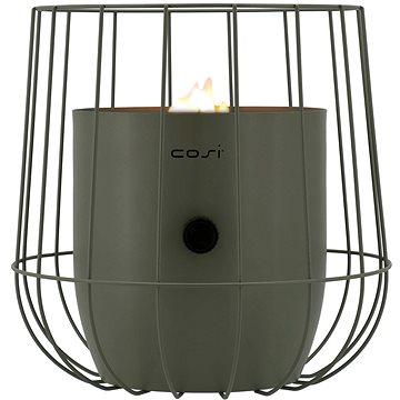 COSI Plynová lucerna typ Cosiscoop Basket - olivový (5801140)