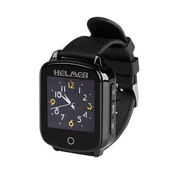 Helmer seniorské hodinky LK 706, černé (Helmer LK 706)