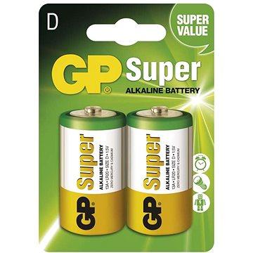 GP Super Alkaline LR20 (D) 2ks v blistru (1013412000)