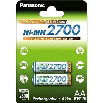Panasonic NiMH AA 2700mAh 2ks (HR-3U-4BP (2700))