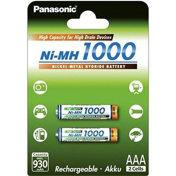 Panasonic NiMH AAA 930mAh 2ks (HR-4U-2BP (1000))