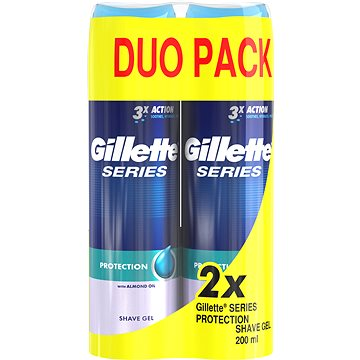 GILLETTE Series Gel Extra Protection 2 × 200 ml (7702018442409)