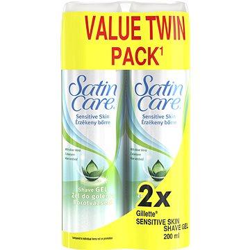 GILLETTE Satin Care Sensitive 2 × 200 ml (7702018507016)