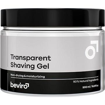 BEVIRO Transparent Shaving Gel 500 ml (8594191202234)