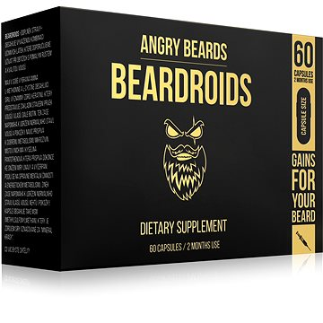 ANGRY BEARDS Beardroids 60 ks (752993127324)